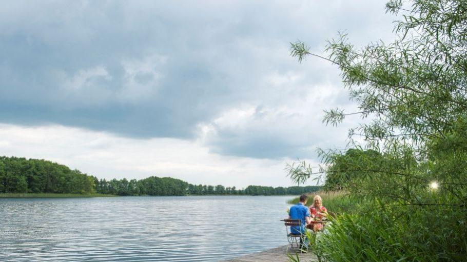 Auf dem Hof Kokurin verbringst du deine freien Tage mit einem eigenen Zugang zum Wasser.