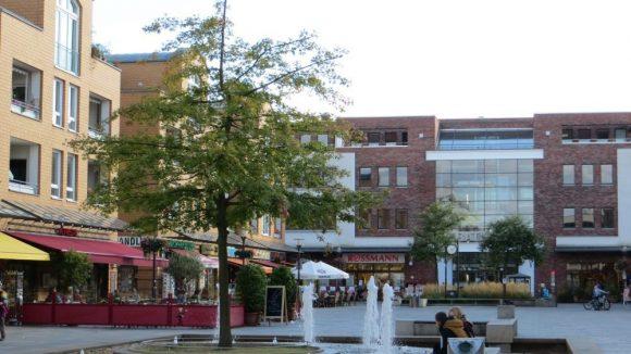 Neues Zentrum: der Rathausmarkt. (c) Trieba