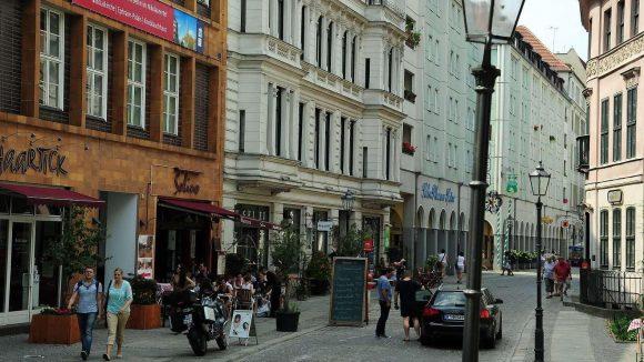 Zur 750-Jahr-Feier baute die DDR das alte Stadtzentrum auf. Historisch und stilvoll sollte es aussehen.