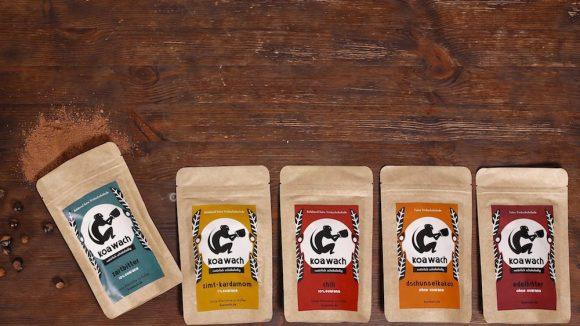 Ob Zartbitter, mit Zimt & Kardamom, Chili, als Dschungelkakao oder Edelbitter. (c)koawach