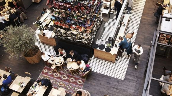 Oh Angie Restaurant von oben.(c)Promo
