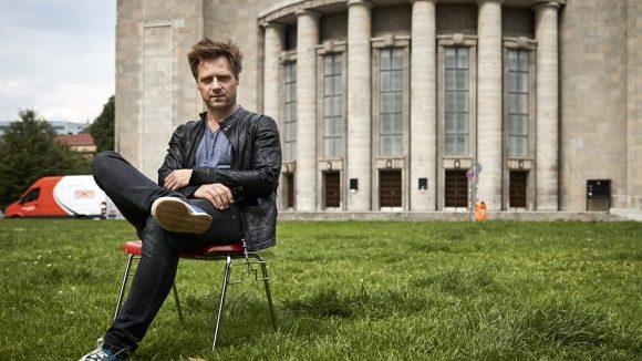 Ohne Rad aber mit Christoph! 2007 hatte er an der Volksbühne seinen ersten Auftritt. ©Ralph Penno