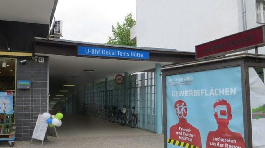 Am U-Bahnhof Onkel Toms Hütte weht ein frischer Wind. Unter anderem eröffnet hier bald ...