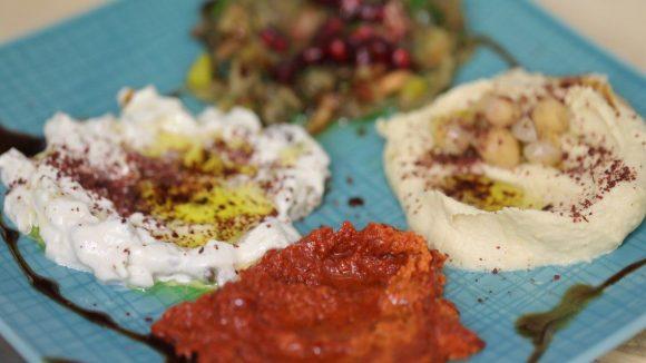 Pikant und schmackhaft: Vorspeise auf orientalische Art.