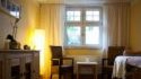 """Die """"Oase der Ruhe"""" des Kinderhospizes Sonnehof bietet eine rundum friedliche Atmosphäre."""
