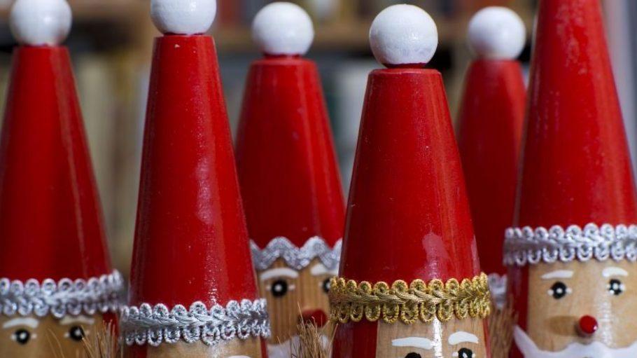 Ein Muss zur Weihnachtszeit: die traditionellen Räuchermänner.