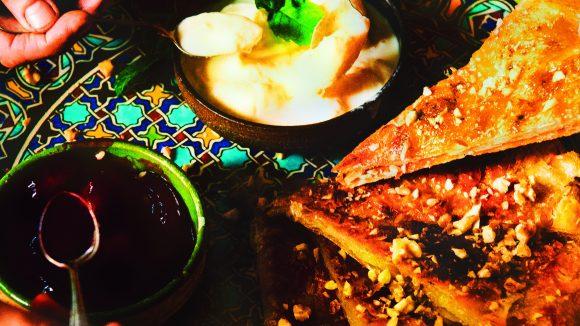 Rezept aus dem Kochbuch: So lecker kann eingedeutschte orientalische Küche aussehen. ©Carina Adam