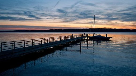 Nicht nur zum Planschen, auch für ein romantisches Picknick bei Sonnenuntergang ein hervorragender Ort: der Scharmützelsee