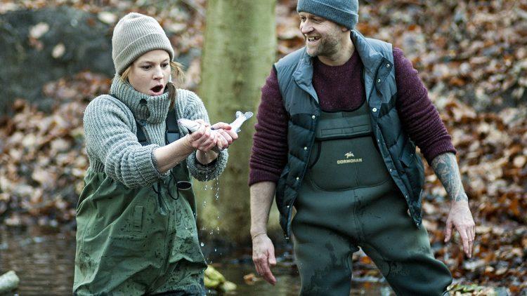 Nur Kriminalkommissarin Olga (Maria Simon) kann dem geheimnisvollen Lennard (Jürgen Vogel) im Film ein Lächeln entlocken.