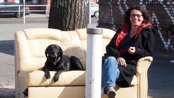 Ulrike Folkerts mag Hunde ... und Kinder: Im April übernimmt die Schauspielerin die Patenschaft für das Kindermuseum im Wedding.