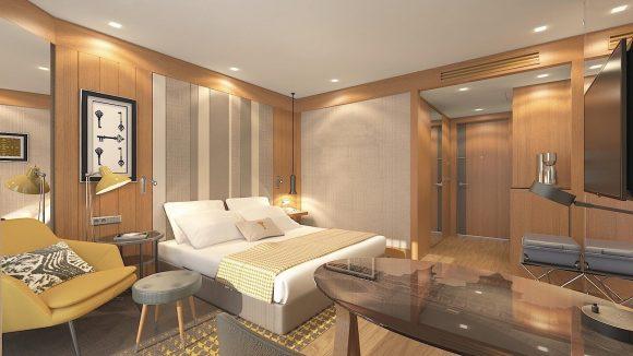 Schlicht wie elegant sind die 376 Classic-Rooms.