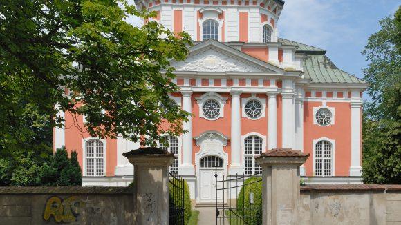 Die Schlosskirche Buch ist der ganze Stolz des Bezriks.