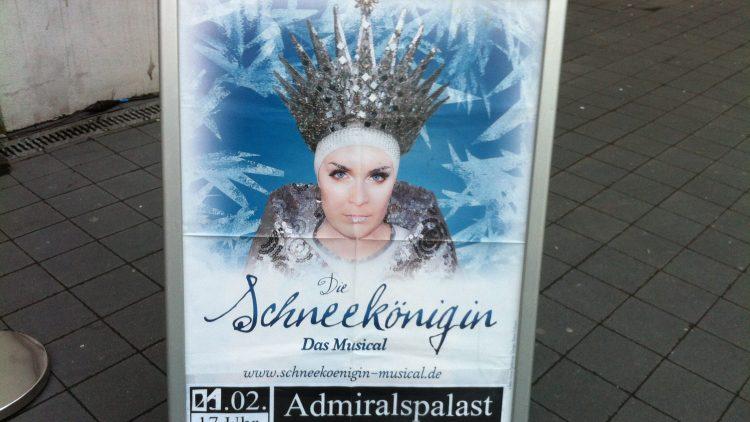 Die Schneekönigin residiert zurzeit im Admiralspalast.