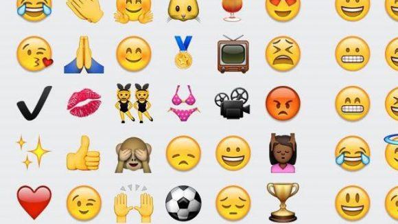 Screenshot der letzten Emojis von Fernanda Brandao. ©Fernanda Brandao