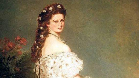 Sie nannten sie Sissi. Kaiserin Elisabeth von Österreich, porträtiert von Franz Xaver Winterhalter (1865).