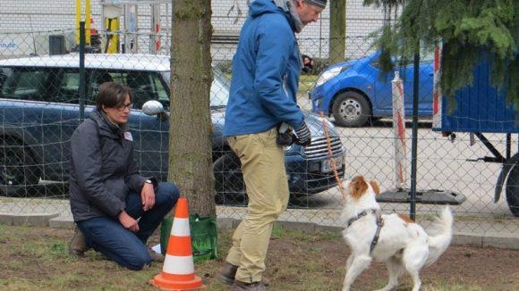 Simone Laube hat ein Auge auf Mensch und Hund. (c) Trieba