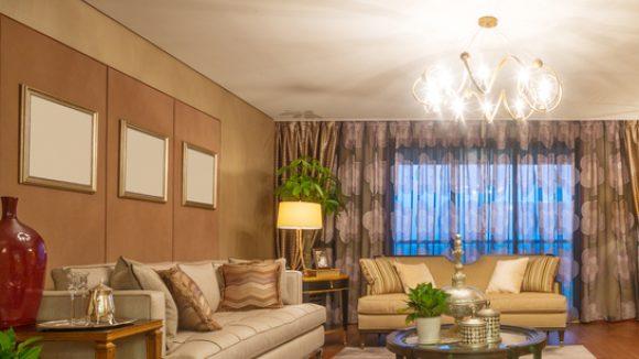 So könnte dein Wohnzimmer im Retro-Look aussehen. © zhu / shutterstock.com