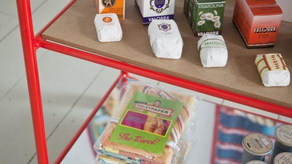 So schön bunt sind Seifen und andere italienische Produkte im Amore Store. ©Kerstin zu Pan