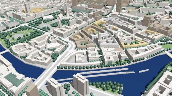 So soll es in der Historischen Mitte bald aussehen. (c)Senatsverwaltung für Stadtentwicklung