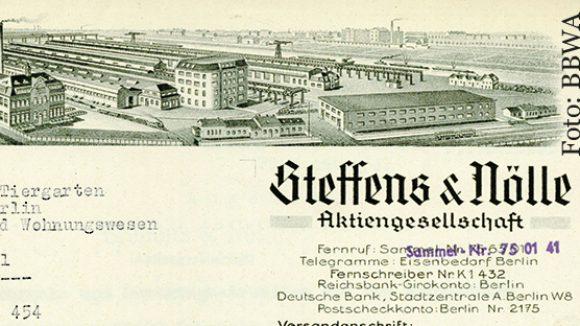 Fabrikgelände von Steffens & Nölle