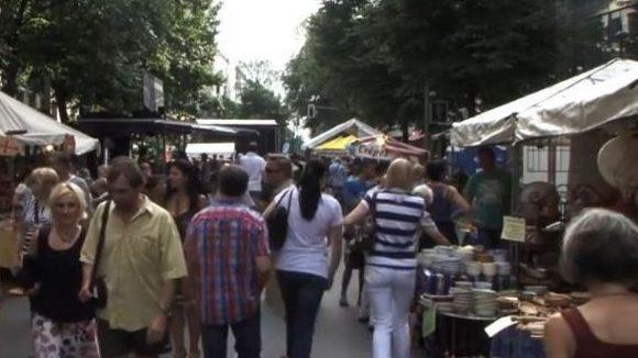 Im August wird die Uhlandstraße wieder zwei Tage lang für den Verkehr gesperrt.