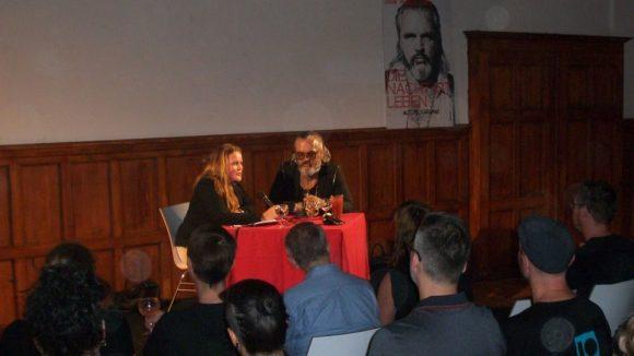 Sven Marquardt während der Lesung (c) Robin Klapprodt