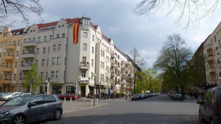 Die Tegeler Straße säumen inzwischen diverse gastronomische Betriebe.