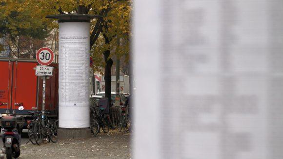 """""""The List"""" erinnert an Menschen, die auf der Flucht nach Europa gestorben sind."""