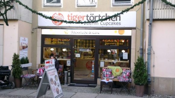 Derzeit zwischen 20 und 30 Cupcake-Sorten gibt es in dem kleinen Café im Nikolaiviertel.