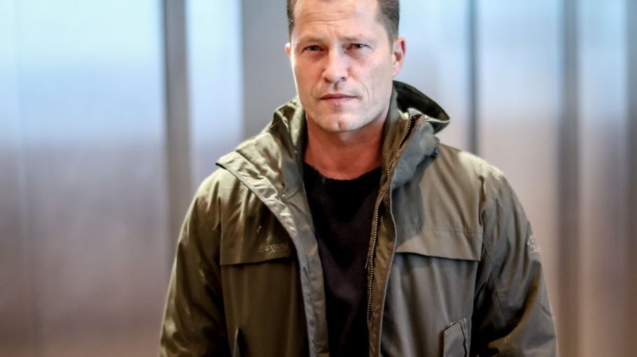 Schauspieler und Regisseur Til Schweiger ist in Berlin unterwegs. Er dreht gerade einen neuen Film.