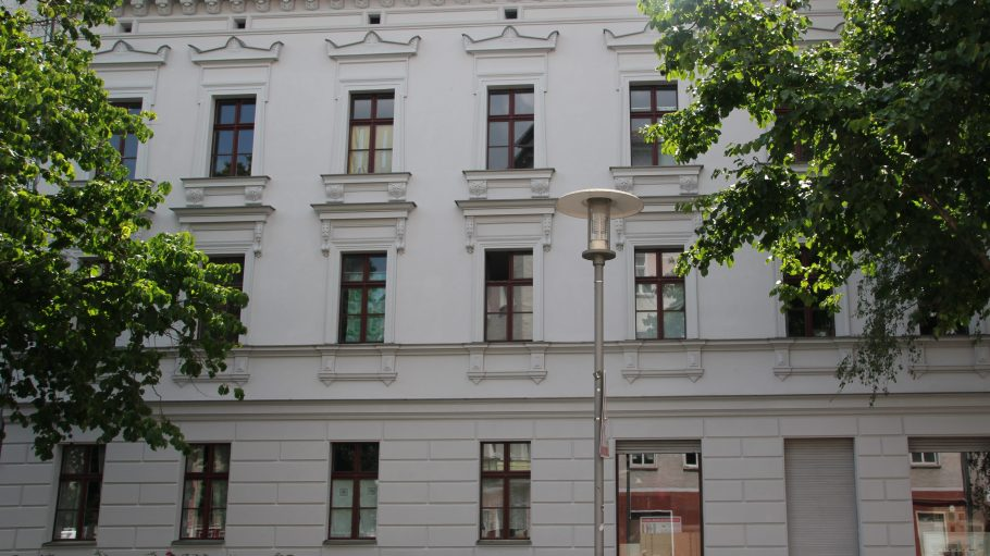Ein Haus mit Geschichte: Türrschmidtstraße 17.