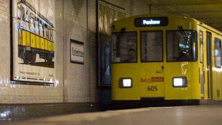 Wegen Tunnel-Arbeiten darf die U2 nur noch im zweiten Gang fahren.