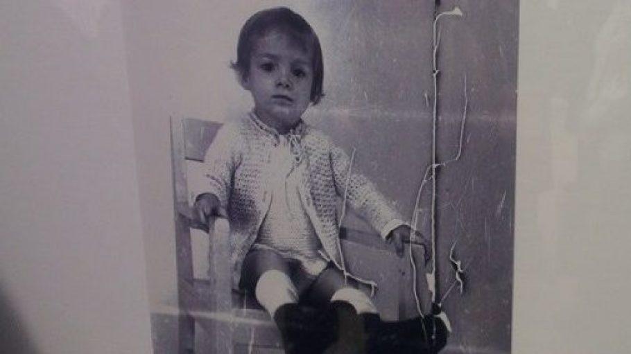 Bild eines unbekanntes Kindes, aufgenommen um 1942 in der Städtischen Nervenklinik für Kinder.