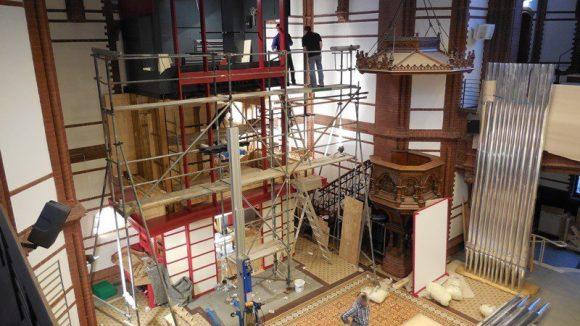 Viel Arbeit steckt in der neuen Orgel. (c) Luthergemeinde