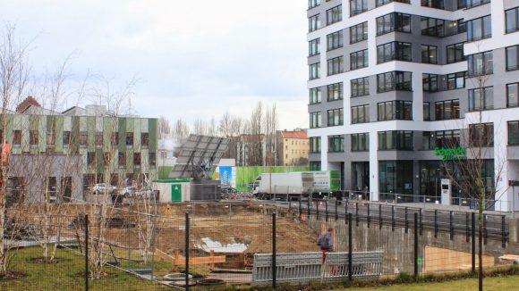 Vorbereitungen für Neubau. (c)Ulf Schumann