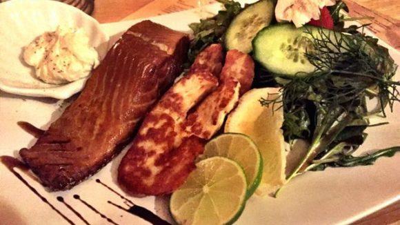 Was sollte es in dem Wasser-Restaurant auch anderes geben außer Fisch? ©Gerlinde Jänicke