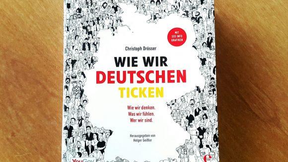 """""""Wie wir Deutschen ticken"""" von Christoph Drösser. (c) Trieba"""