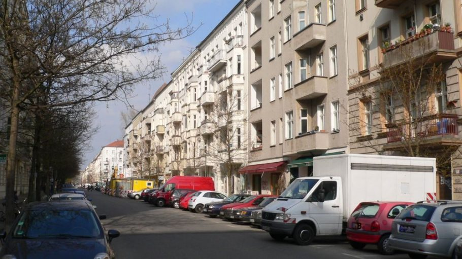Die Winsstraße - ein Bild aus heutigen Tagen.
