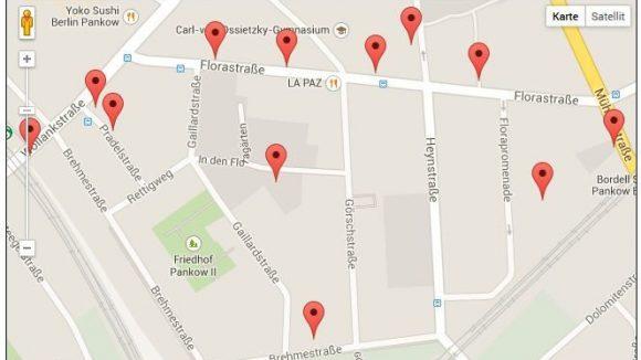 Wo künftig in Pankow gebaut wird (c)Florakiez.de