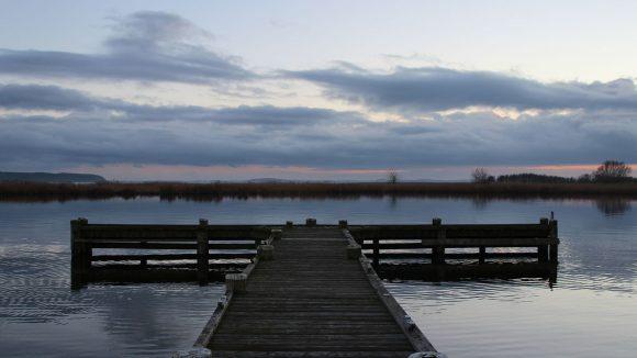 Wunderbare Abendstimmung am Achterwasser auf Usedom ©Katrin Gewecke