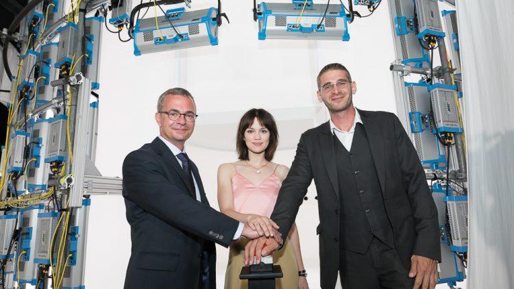 Der Eröffnungsabend des 3D-Filmstudio in Babelsberg am 11. Juni 2018