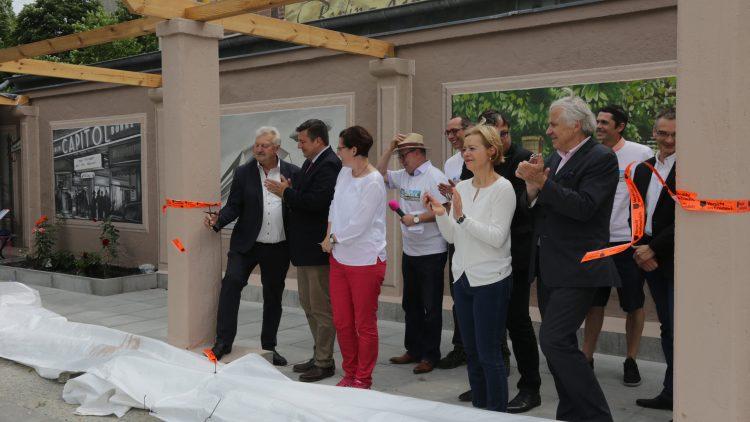 Eröffnung der Theatergasse für alle in Karlshorst.