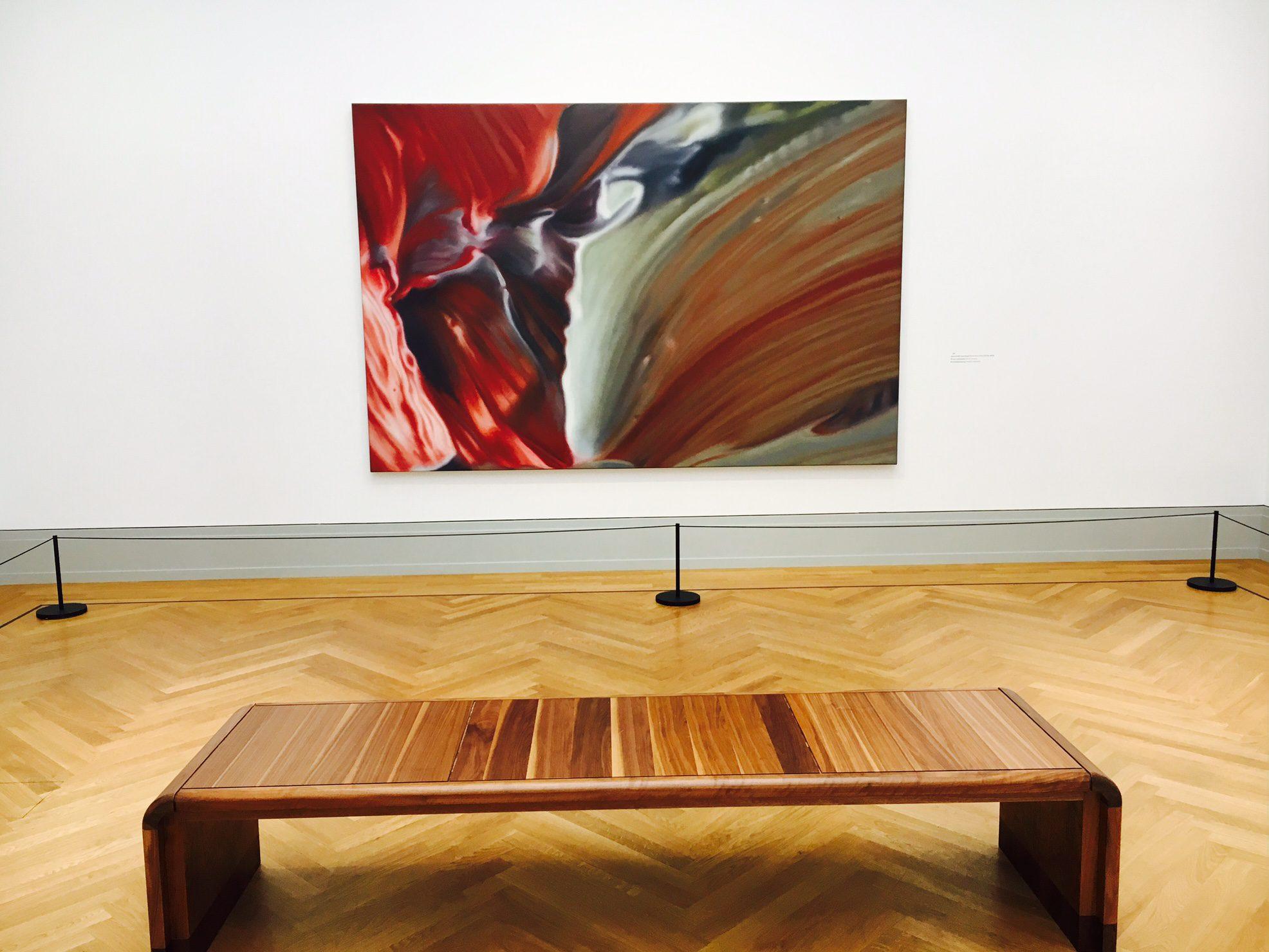 """Werk von Gerhard Richter in der Ausstellung """"Abstraktion"""" im Museum Barberini"""