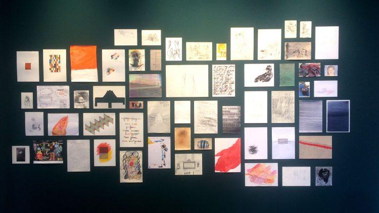 """Die Ausstellung """"Anonyme Zeichner"""" in der Galerie im Körnerpark"""