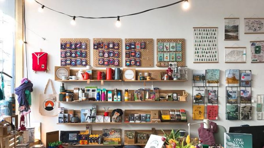 Der Laden Wildhood Store von Innen