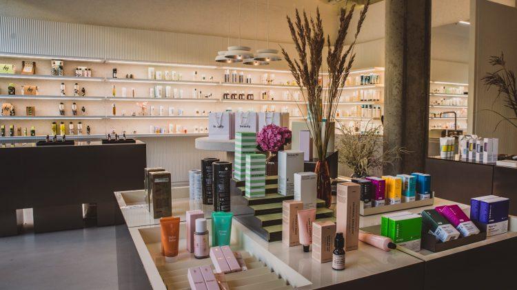 Die Zalando Beauty Station in Mitte.