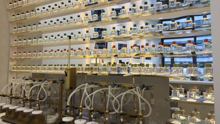 Die Perfumebar von Birkholz Perfume Manufacture in Charlottenburg.