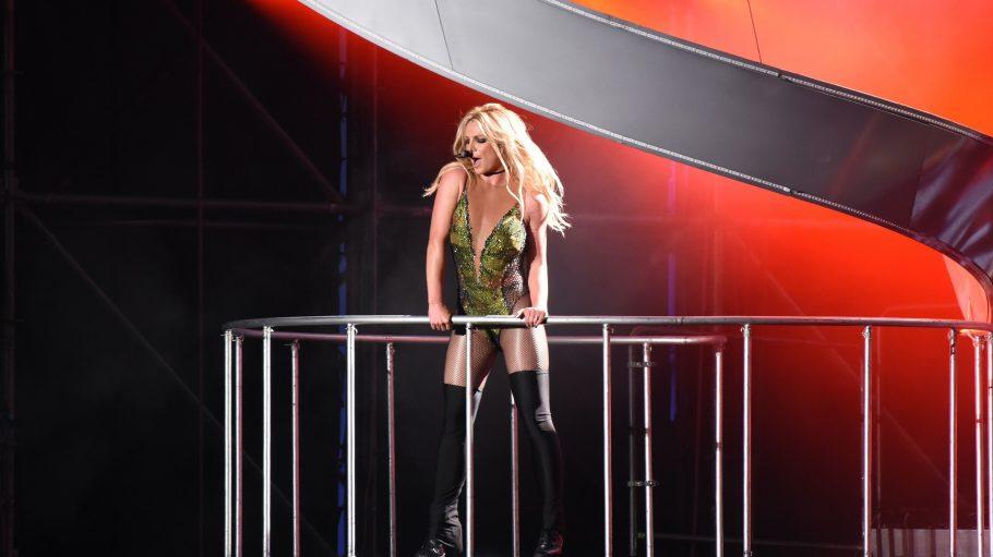 Britney Spears in Bestform bei ihrem Konzert in Taipeh.