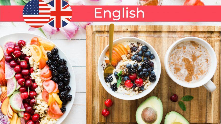 Frühstück und Brunch: Avocados, Obst, Müsli, Beeren und Honig.