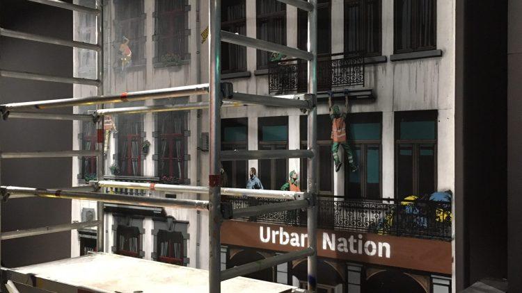 Model der Urban Nation von außen.